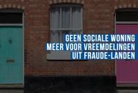 Vlaams Belang dient voorstel in om geen sociale woningen meer toe te wijzen  aan vreemdelingen uit landen die fraude-opsporing saboteren