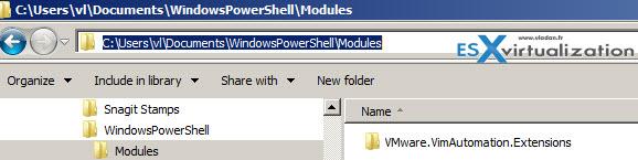 Folder creation on my system