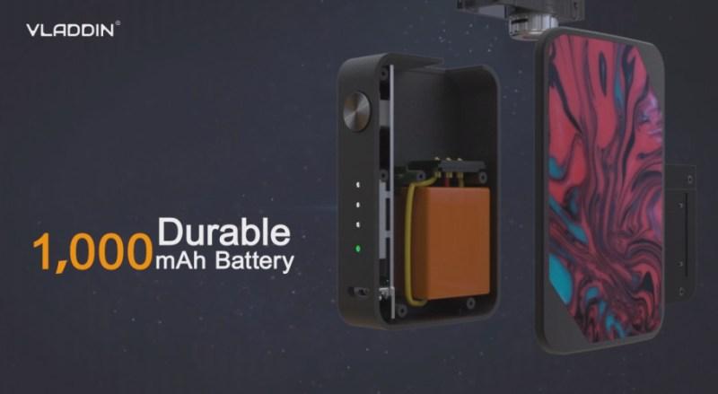battery of the slide kit