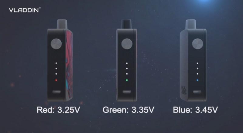 voltage of the slide kit
