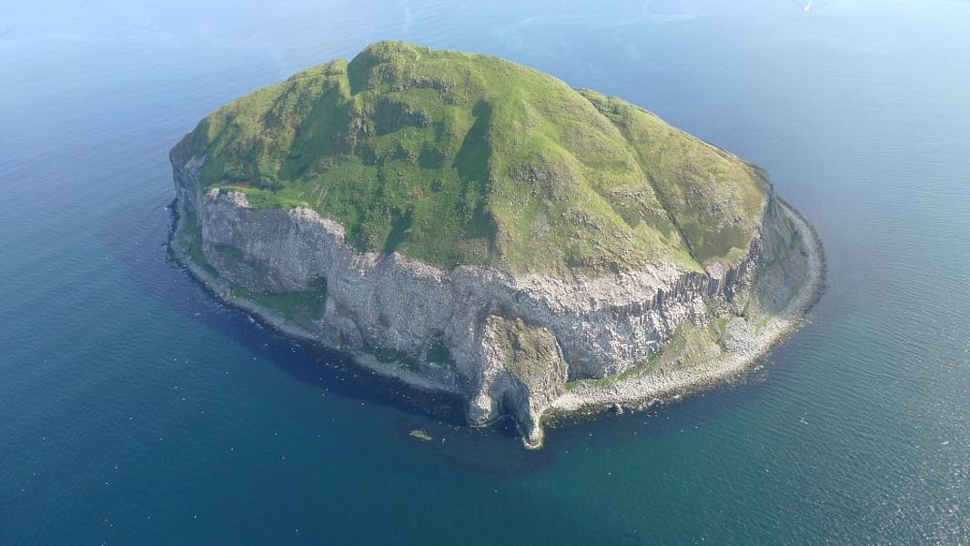 Island Archive  Ailsa Craig  Great Britain  Europe