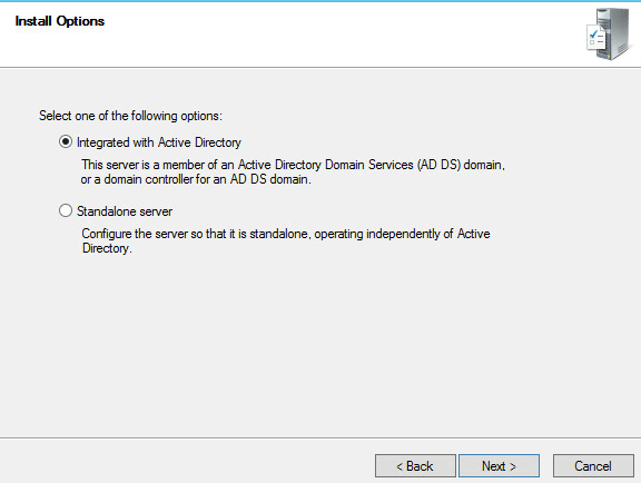 Windows Deployment Services - Integrate with AD