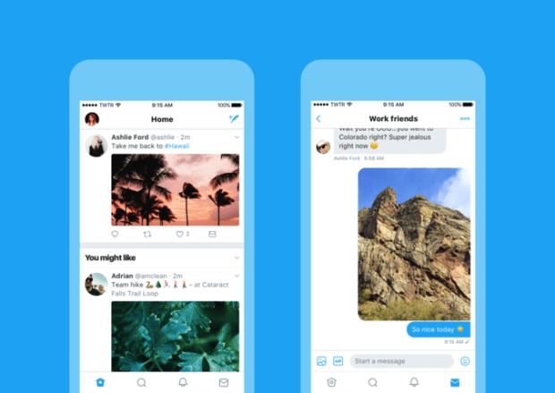 В Twitter появился обновленный дизайн