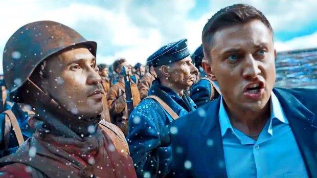 Путин вместе с ветеранами посмотрел фильм'Рубеж