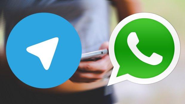 МегаФон После сбоя трафик из Telegram ушел в WhatsApp