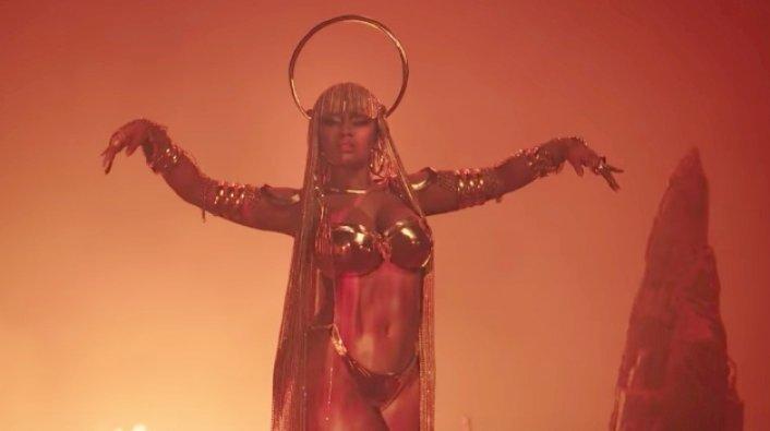 Nicki Minaj Drops Ganja Burn Music Video