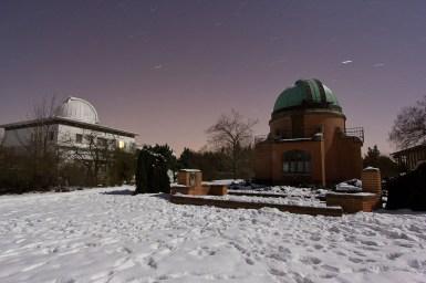 Zima na centrální plošině