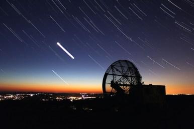 Večer na radarové louce