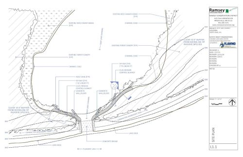 small resolution of before shot of the channel area