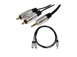 Audioline καλώδιο 2 RCA σε jack