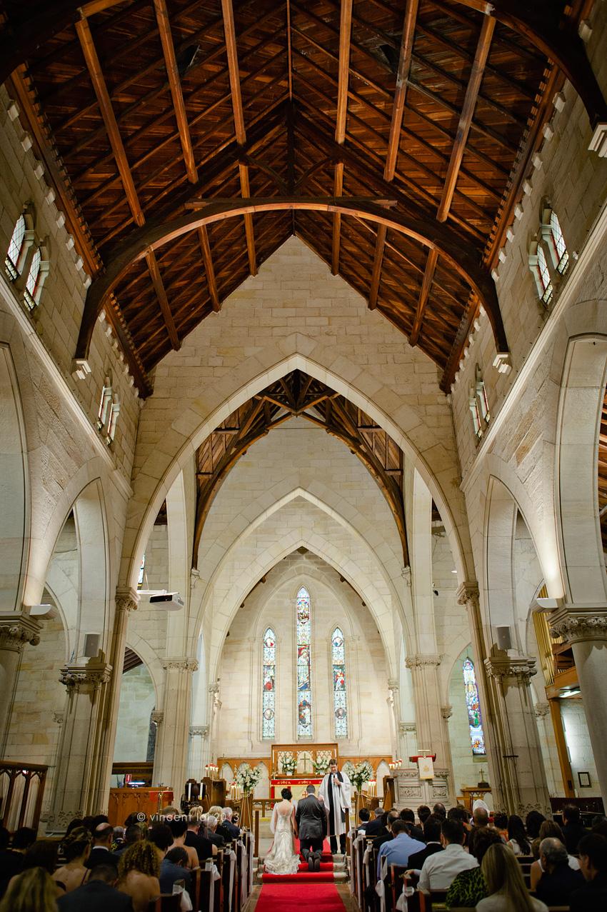ShangriLa Hotel Altitude Restaurant Wedding  St Thomas Anglican Church Wedding North Sydney