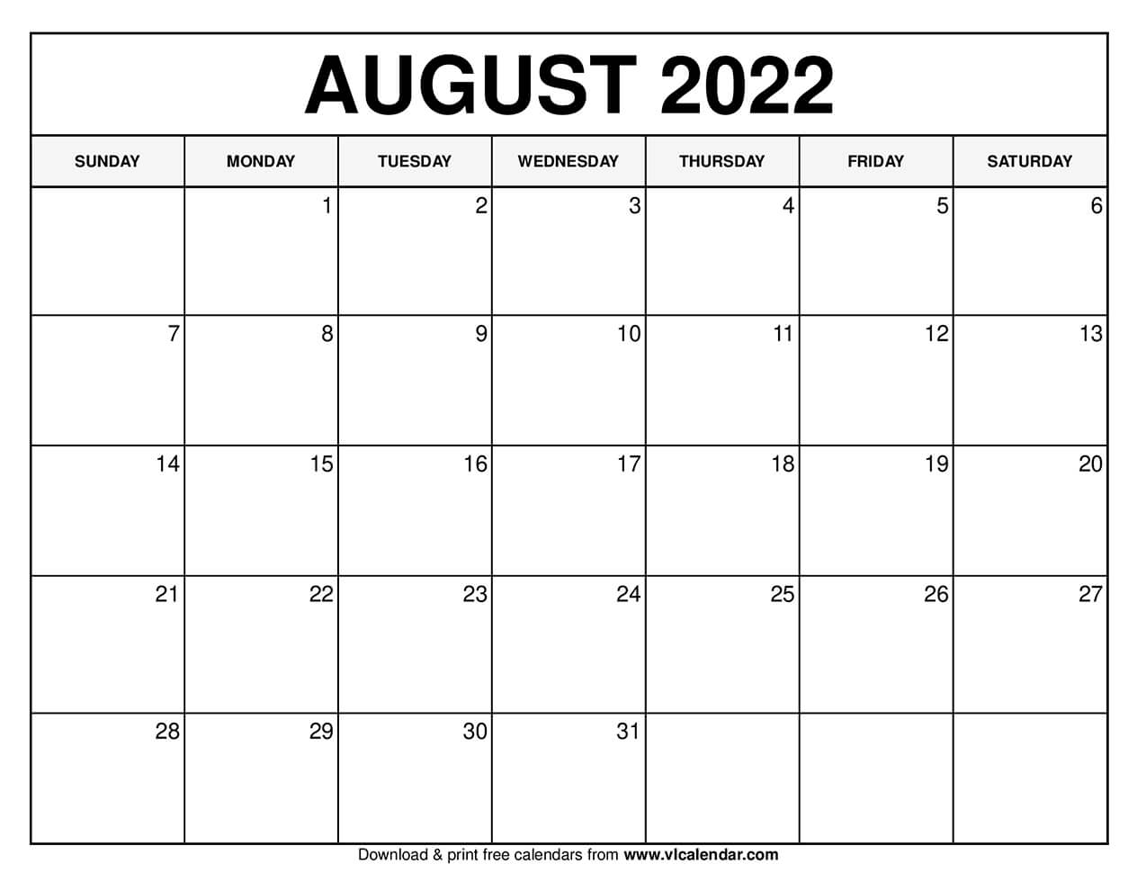 These include monthly calendars and even complete 2021 planners. Printable August 2021 Calendar Templates with Holidays