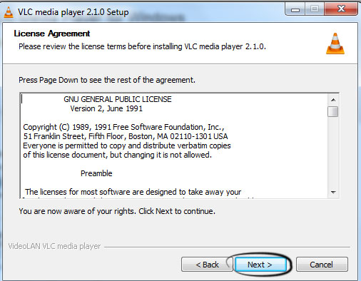 free download for vlc media player setup