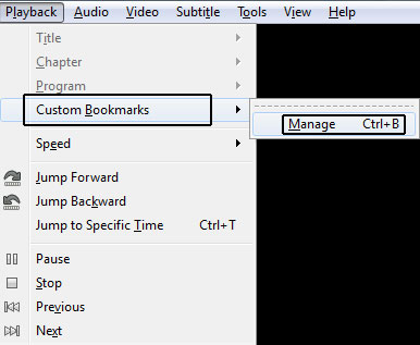 vlc-custom-bookmarks-menubar