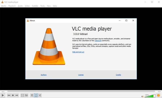 VLC 3 Interface