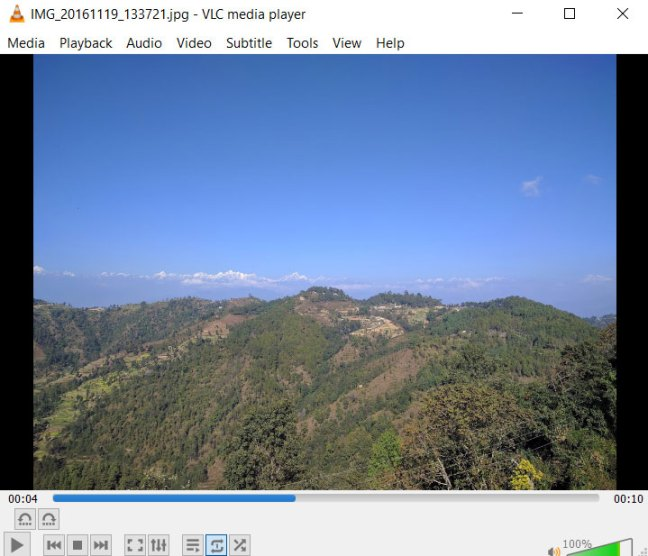 VLC Opening Image