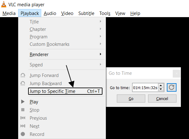 Jump to Specific Time
