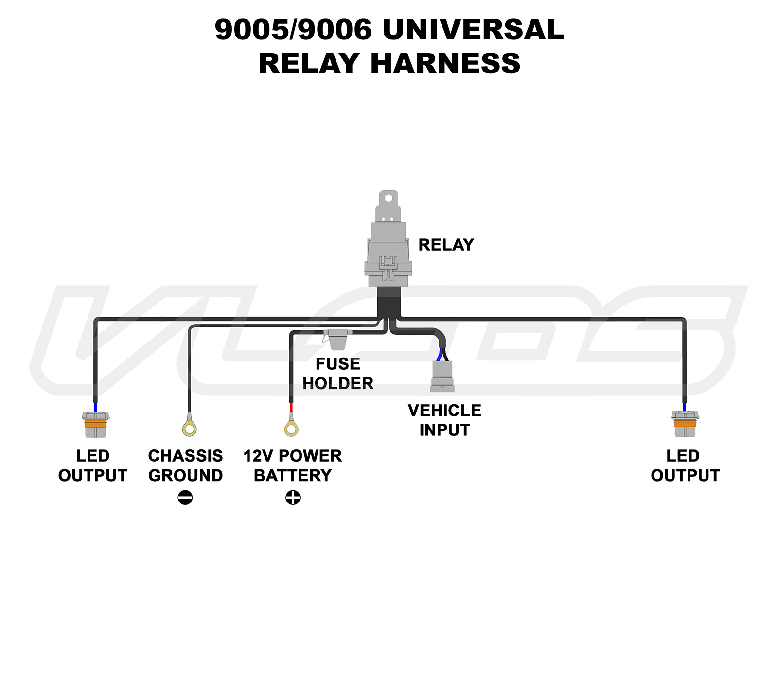 universal relay wiring diagram 110 volt and schematics source 9005 9006 headlight data todaywiring diagrams headlamp