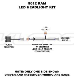 9012 ram led headlight [ 1600 x 1400 Pixel ]