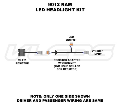 small resolution of wiring diagrams rh vleds com h13 headlight socket wiring diagram xentec h13 wiring diagram