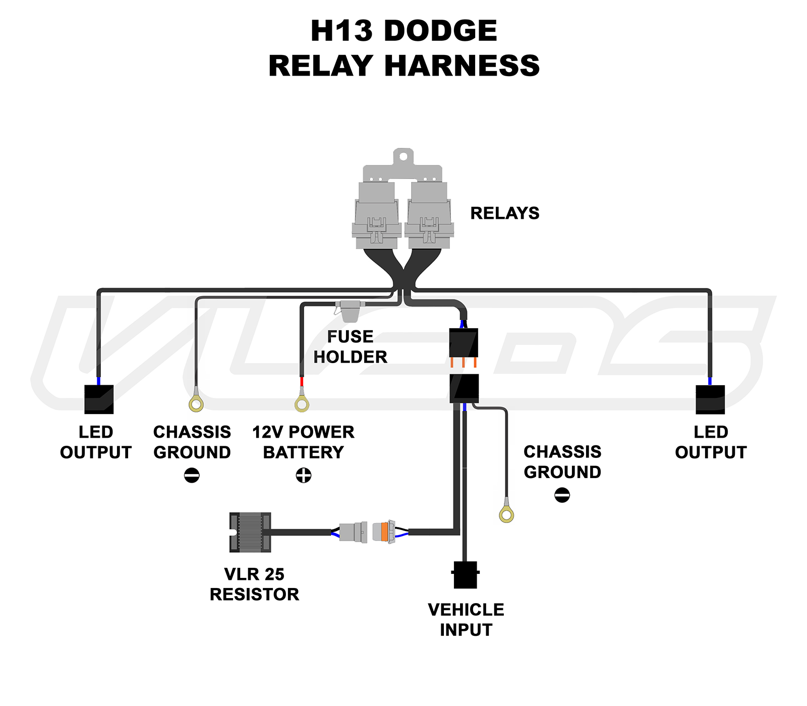 car led light wiring diagram 2005 ford focus zx4 hid headlight conversion imageresizertool com