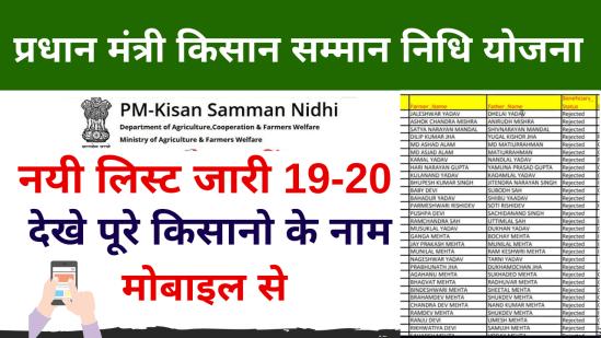 Pradhan mantri kisan samman nidhi yojana list, CSC pm kisan yojana list kaise dekhe online
