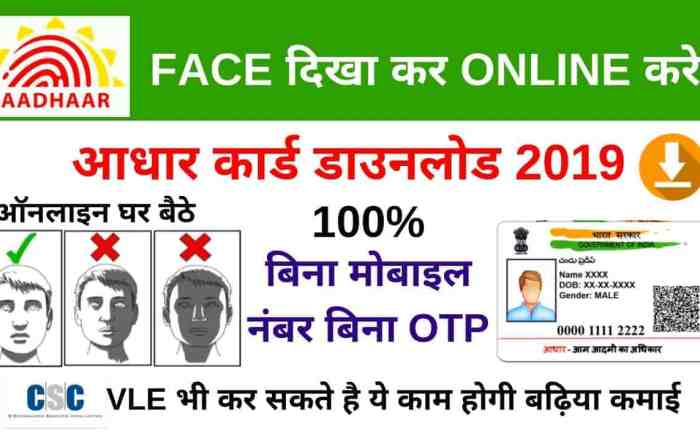 How to Download Aadhaar Using Face Authentication Via Uidai Face Recognition