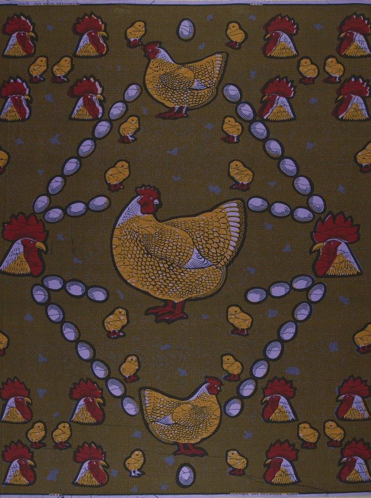The Happy Family   Vlisco African / Ankara fabric names
