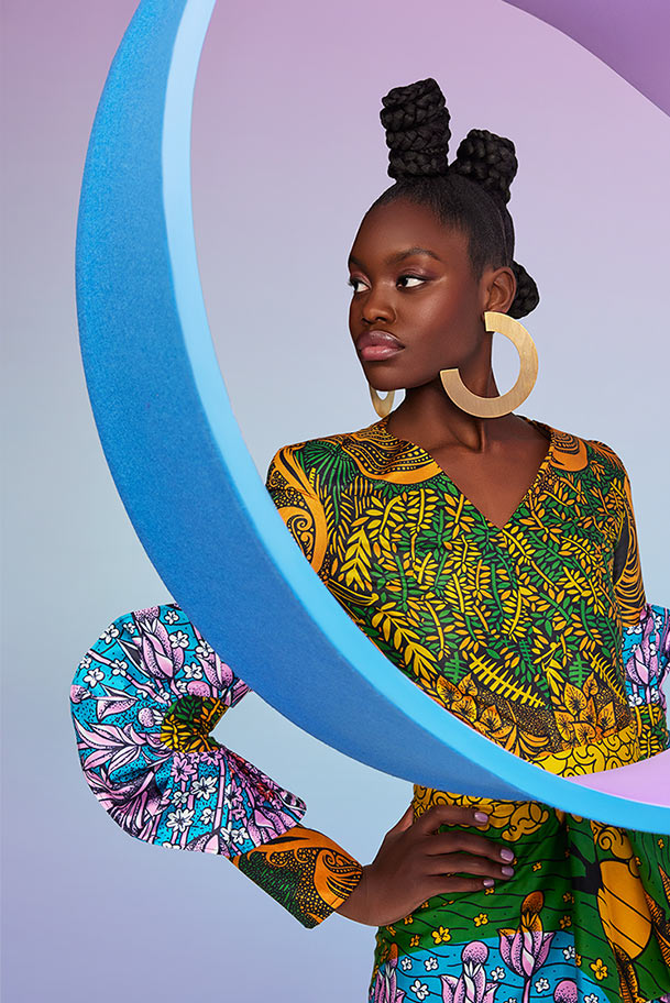 Vlisco City of Joy Fashionlook 10