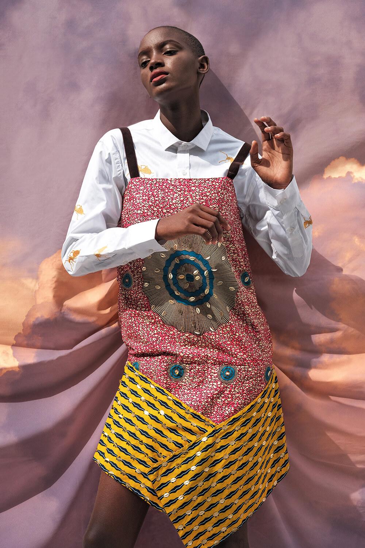 Vlisco&co Lagos - Lookbook Abiola Olusola - Look 01