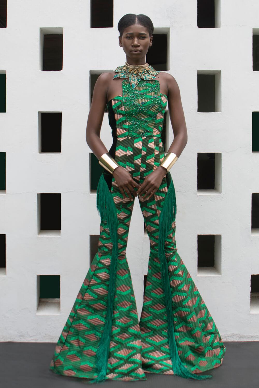 Vlisco&co Accra - House of Paòn - Look 05