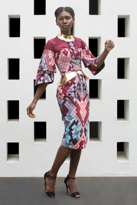 Vlisco&co Accra - House of Paòn - Look 02