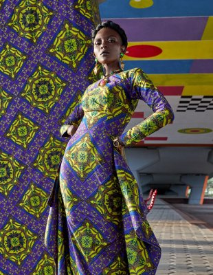 Full display Vlisco Lookbook Wax Fantastique