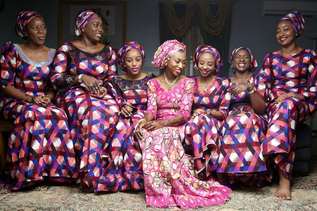 African wedding dresses