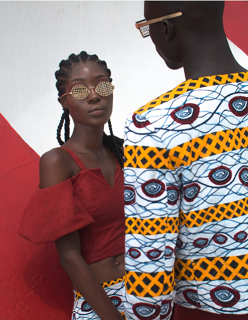 Olooh x Vlisco by Nuits Balnéaires