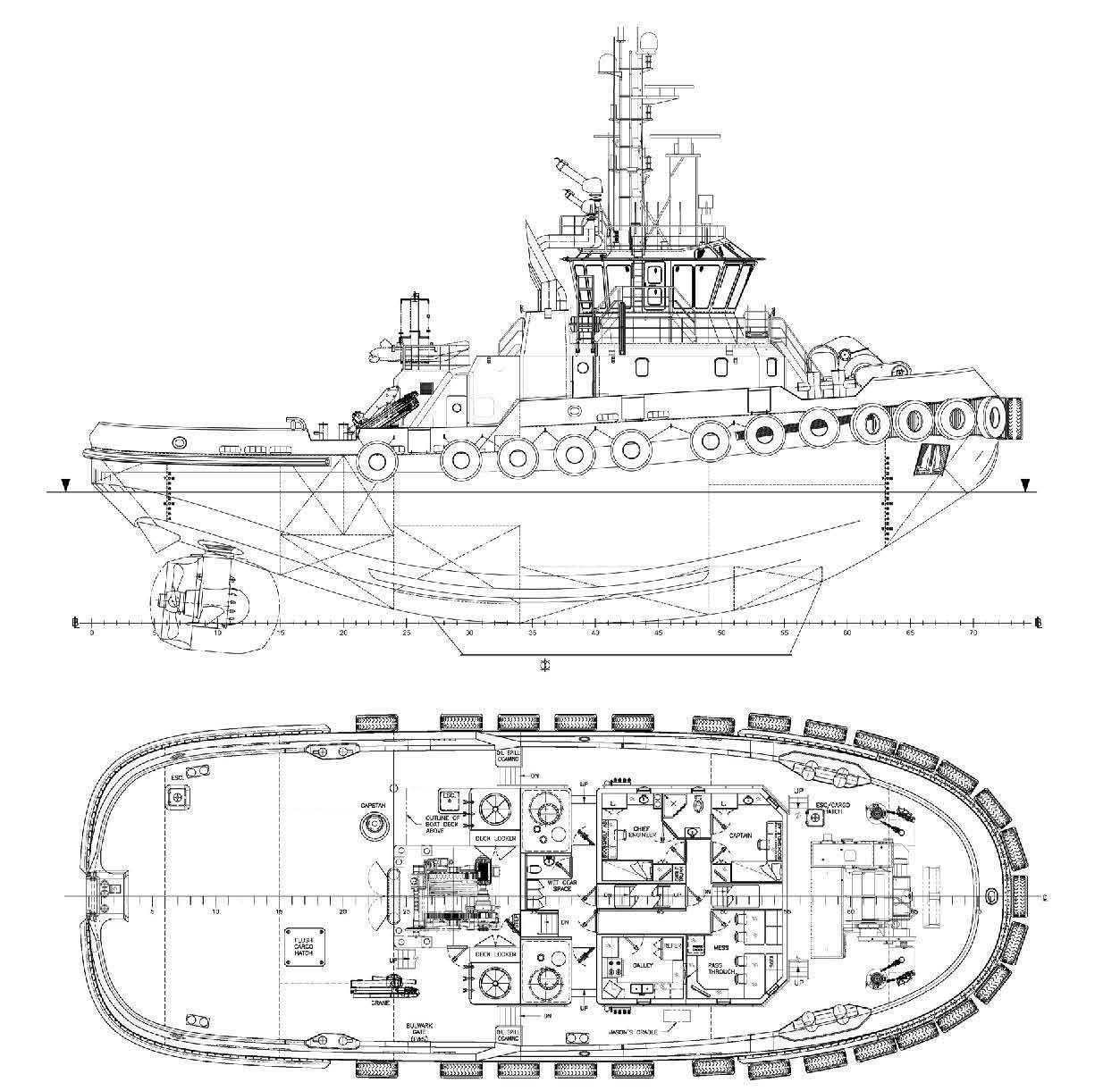113 Tbp Asd Tug Escort Fifi 1 Ice Class