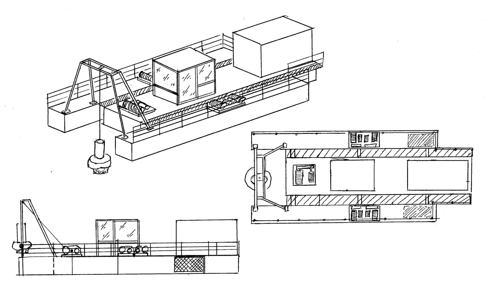 Suction Dredger Modular
