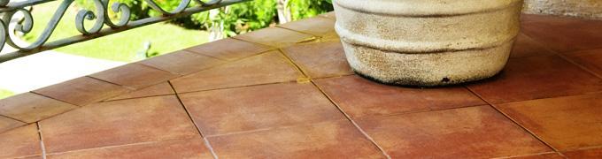 Terracotta tegels  vloereninfobe