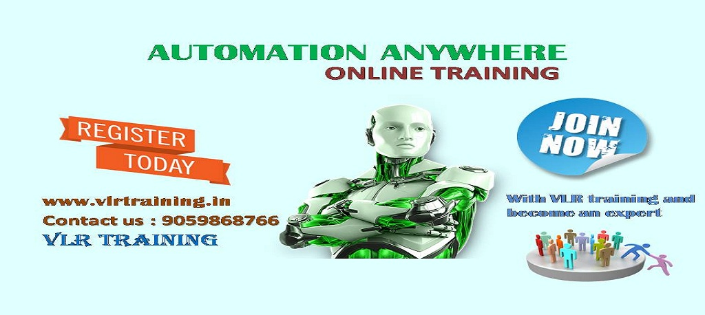automation anywhere online training and class room training | vlr