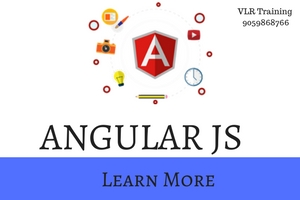 ANGULAR JS training by vlr training