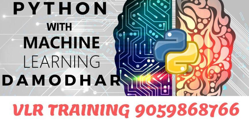 Python With Machine Learning Online Training Damodhar