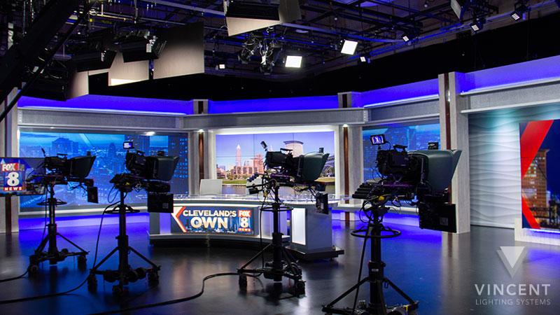broadcast studio lighting broadcast