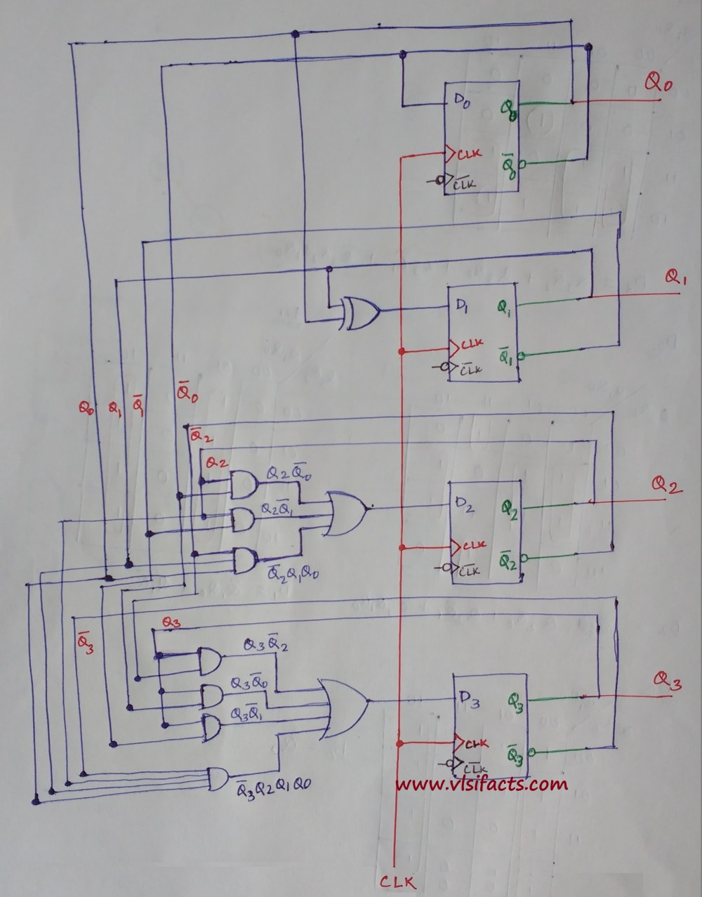 medium resolution of circuit diagram 3 bit parity generator