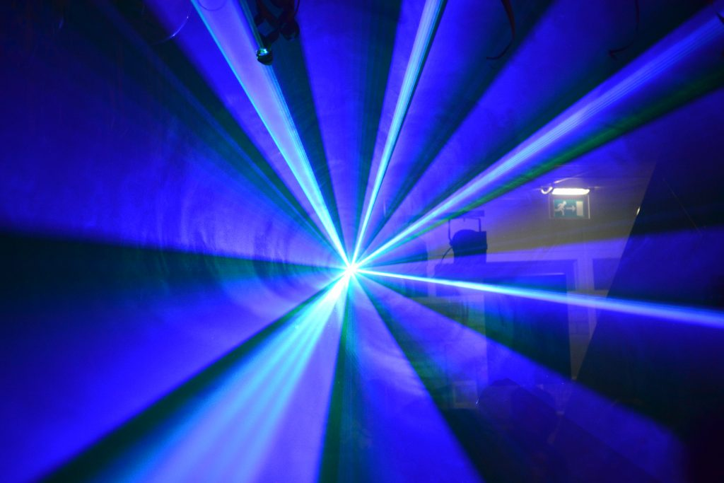 Lasers show