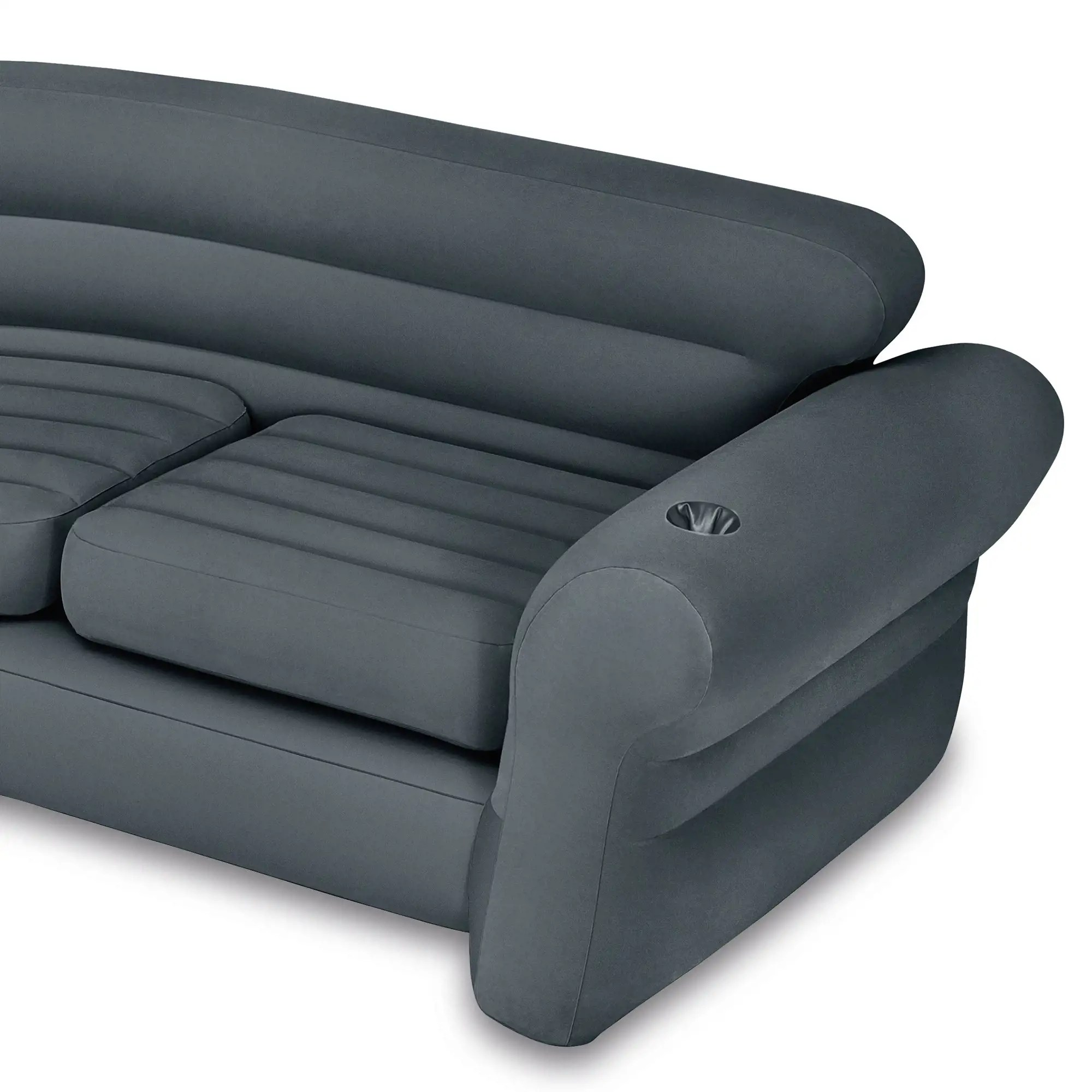 intex sofa chair italian leather and loveseat inflatable corner couch sectional pull out