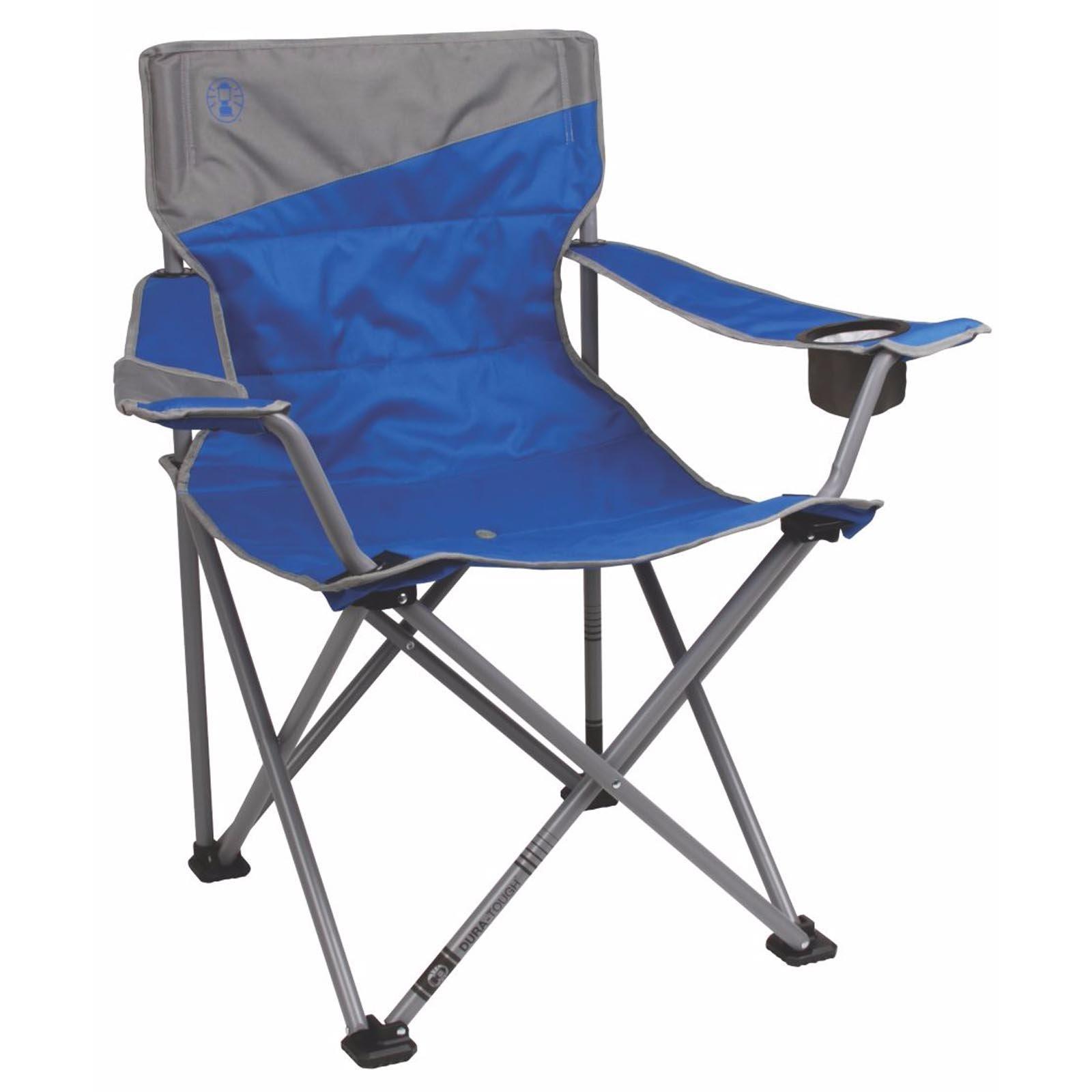 2 Coleman Camping Outdoor Beach Folding BigNTall