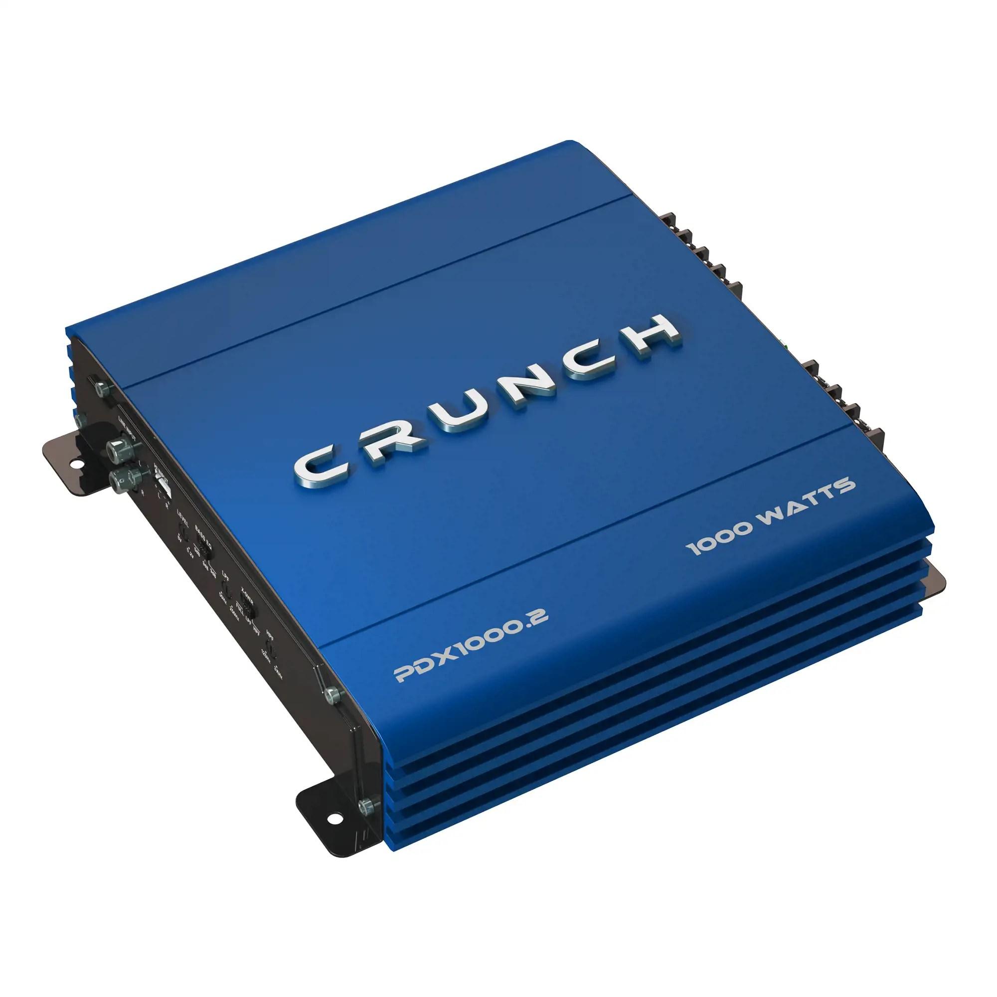 2 channel stereo amplifier 98 explorer radio wiring diagram crunch 1000 watt exclusive blue a b car