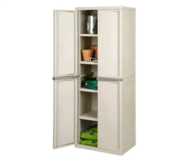 Sterilite 4Shelf Cabinet  01428501  VMInnovationscom