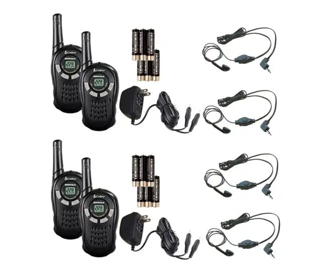 Cobra CXT125 MicroTalk 16 Mile Walkie Talkie 2-Way Radios