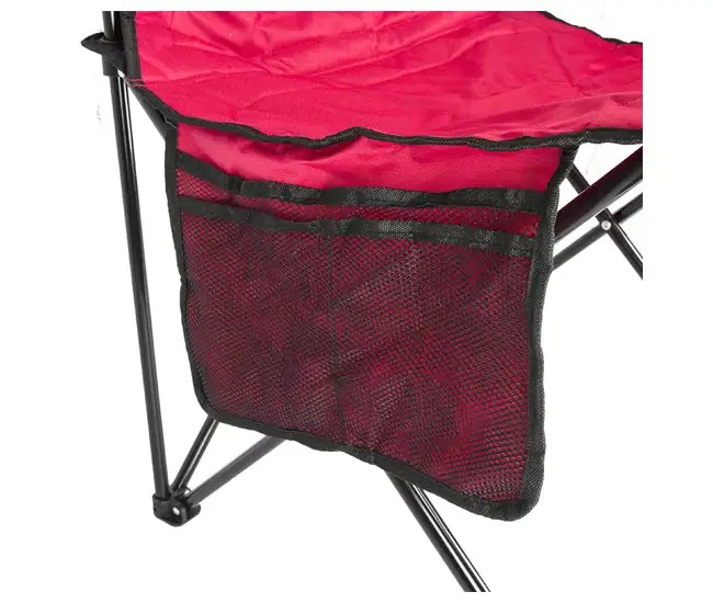 coleman camping oversized quad chair with cooler antique living room styles built-in and cup holder, red : 2000020264 vminnovations.com